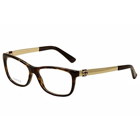 632570953ab Optical frame Gucci Acetate Havana - Gold (GG 3785 ANT) - Walmart.com