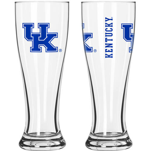 Boelter Brands NCAA University of Kentucky Wildcats 2-Pack Gameday Pilsner Set
