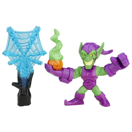 Marvel Super Hero Mashers Micro Series 2 Mini Figure - Green - Green Superhero