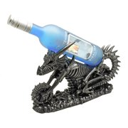 Vin Draco Dragon Skeleton Bike Wine Holder