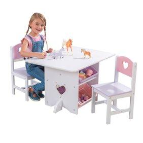 Step2 Lifestyle Kids Table And 2 Chairs Set Multiple Colors Walmart Com Walmart Com