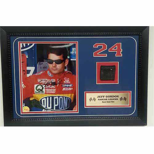 Nascar 12x18 Tire Piece Frame, Jeff Gordon