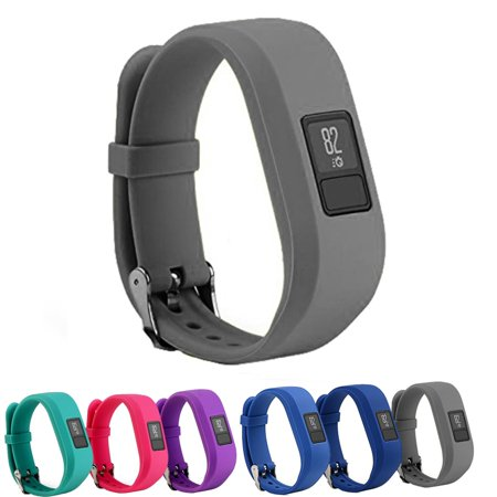 StrapsCo Silicone Replacement Watch Band Strap for Garmin Vivofit 3 - image 3 of 3