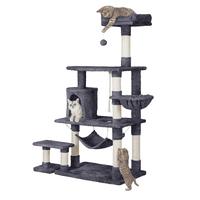 SmileMart 61 in Deluxe Multi Level Cat Tree Condo