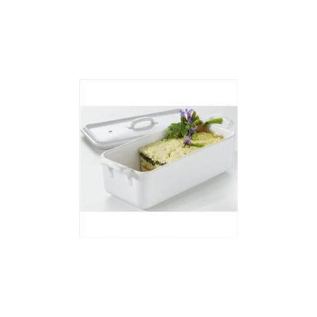 Revol Usa 614862 Belle Cuisine Rectangular Terrine with Lid - White