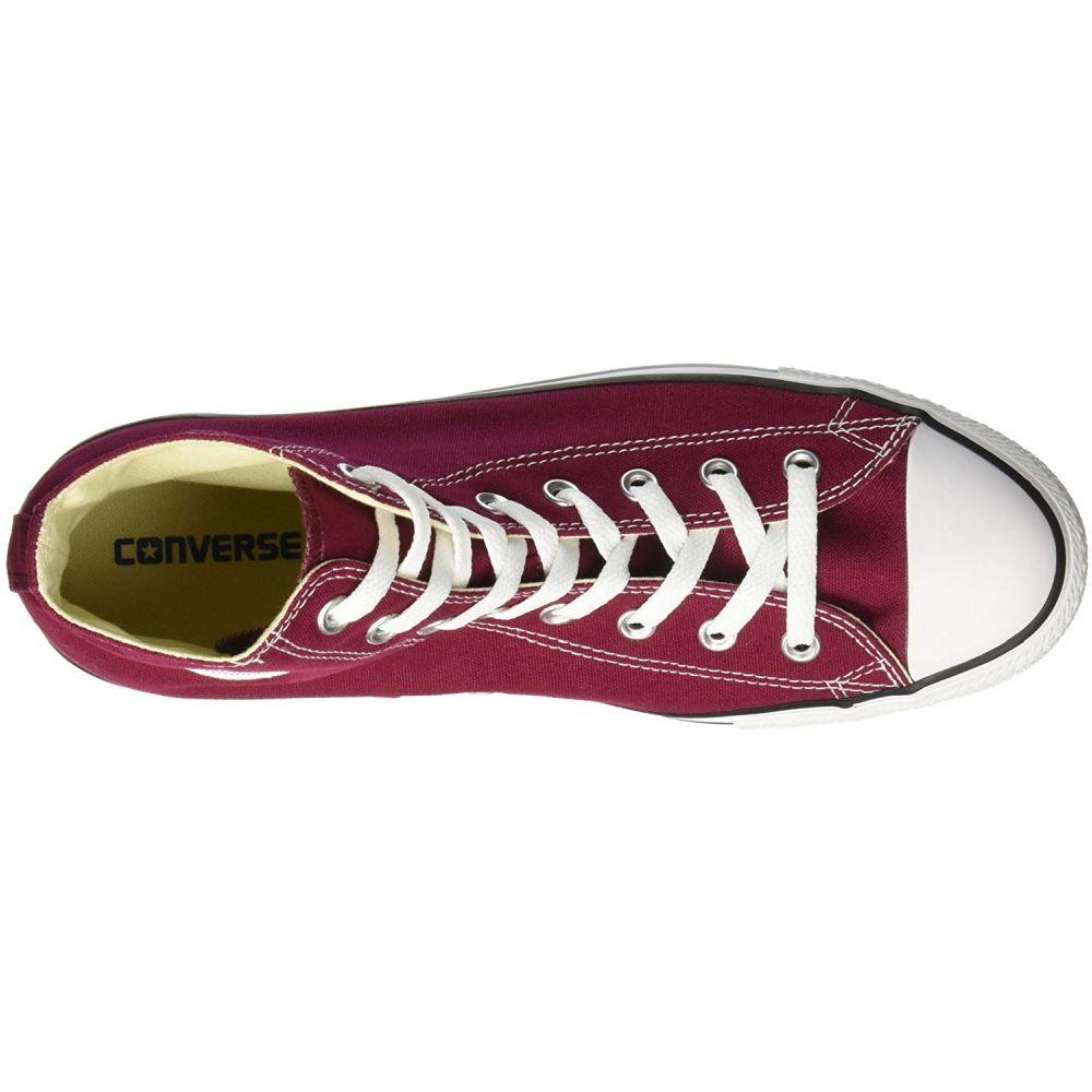 Converse M9613C-075 Men's Chuck Taylor All Star Hi Shoes, Red, 7.5 D(M) US