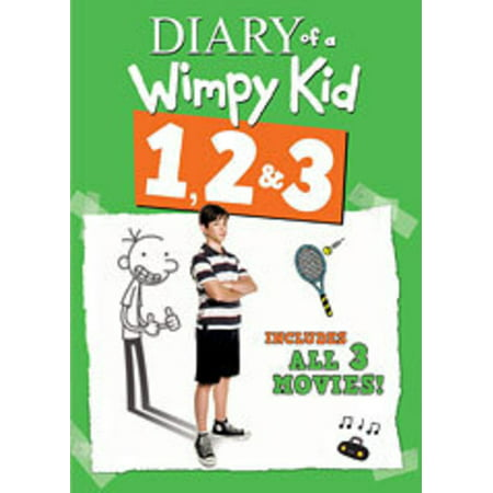Diary of a Wimpy Kid 1, 2 & 3 (DVD) (Children's Halloween Movies On Netflix)