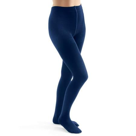 Fleece Lined Leggings, Warm Tights for Winter, Queen, Navy ()