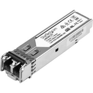 StarTech.com Gigabit Fiber SFP Transceiver Module - HP J4858C Compatible - MM LC with DDM - 550m (1804 ft) - 1000Base-SX - For Optical Network, Data Networking 1 LC Duplex 1000Base-SX Network -