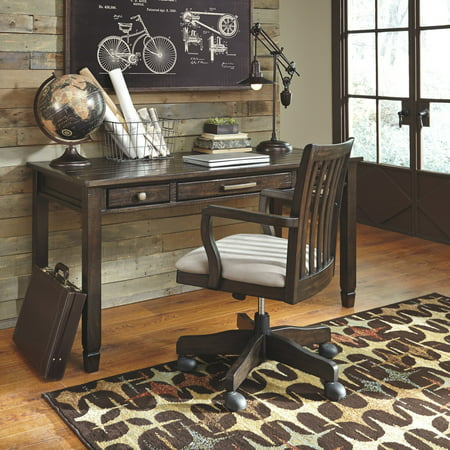 Signature Design by Ashley Townser 60 in. Home Office Writing/Laptop Desk 60' Executive Home Office