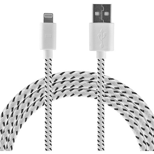 DP Audio 4-Foot, USB-to-Apple Lightning Cable (White)