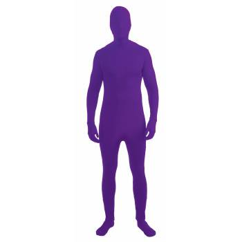 Purple Adult Halloween Costume - Purple Halloween Costume
