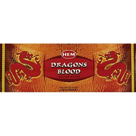 Hem Dragons Blood Red Incense, 120 Stick Box Hem Hex Incense Sticks