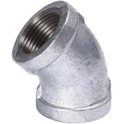 Southland 3/8 In. 45 Degree Galvanized Elbow 510-202HC