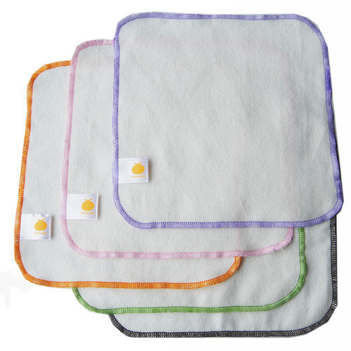 Satsuma Designs LLC Organic Flannel Wash Cloth (Set of 5)