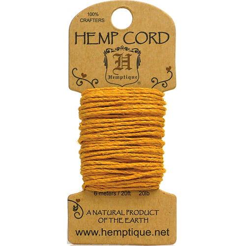 Hemp Cord 20lb 20'-Black