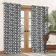 Waverly Sun N Shade Waverly Luminary Indoor/Outdoor Curtain Panel