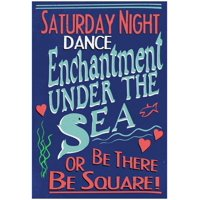 Enchantment Under The Sea Dance Movie Poster - 13x19