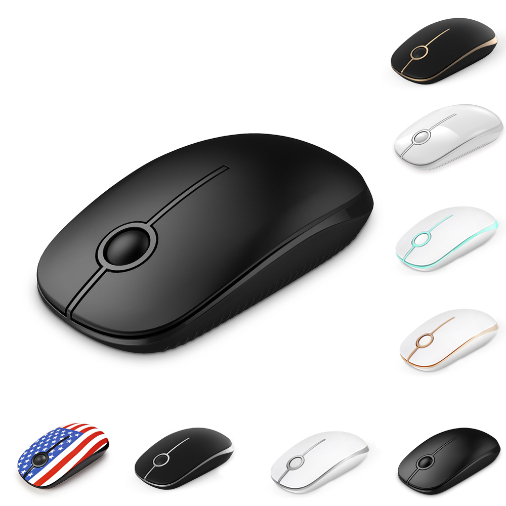 Jelly Comb Wireless Mouse 2.4G Silent-Click Mouse Optical Mice For