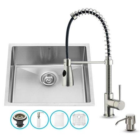 Kitchen sink and faucet set - Walmart kitchen sinks ...