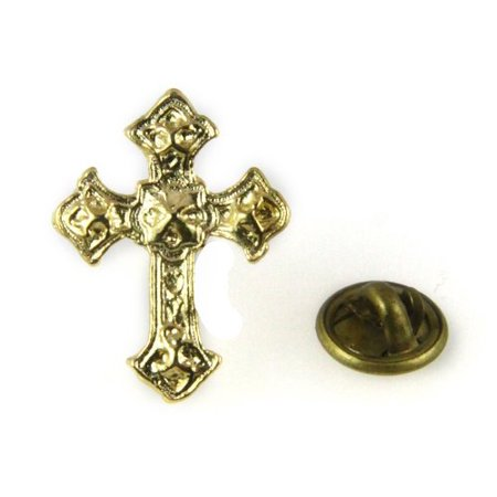 - Christian Cross Lapel Pins Tie Tack Religious Church Worker Volunteer...