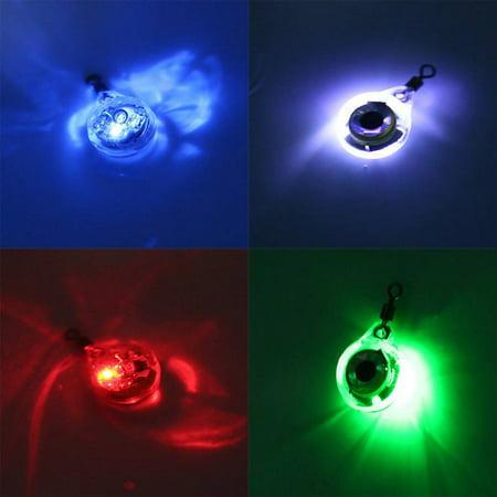 Fishing Lure Light Fishing Bait LED Underwater Night Fishing Finder 3D Eye Shaped Fish Attracting Lamp Flashing Fishing (Eye Shape Finder)