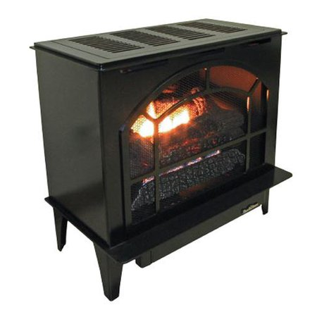 Buck Stove Townsend Ii Vent Free Steel Stove in Black - Natural Gas (Natural Vent Gas Stoves)