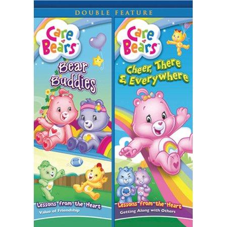 Care Bears: Bear Buddies / Cheer, There & Everywhere (DVD) - Cheer Bear Symbol