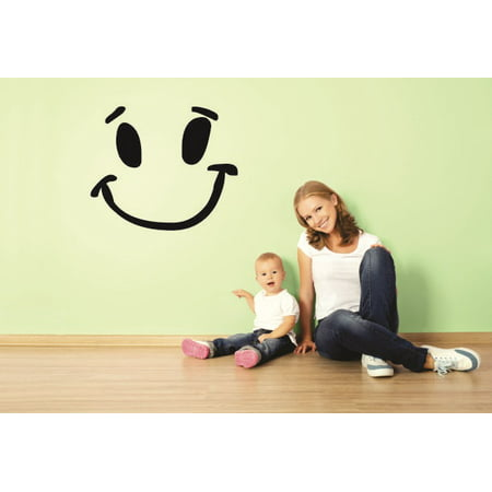 New Wall Ideas Smiley Face Happy Kids Boy Girl - Boys Face Painting Ideas Easy