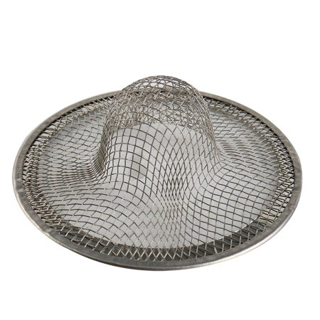 "2PCS 2.7"" Stainless Steel Drainer Basket Basin Filter Mesh Sink Strainer - image 1 of 1"