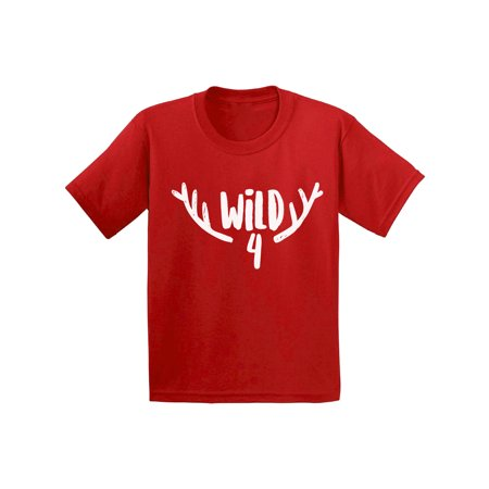 Awkward Styles Funny Party Fourth Birthday Gifts for 4 Year Old I am Four 4th Birthday Toddler Shirt for Kids 4th B Day Party Shirt for Boys Shirts for Girls - Themes For 4 Year Old Birthday Party