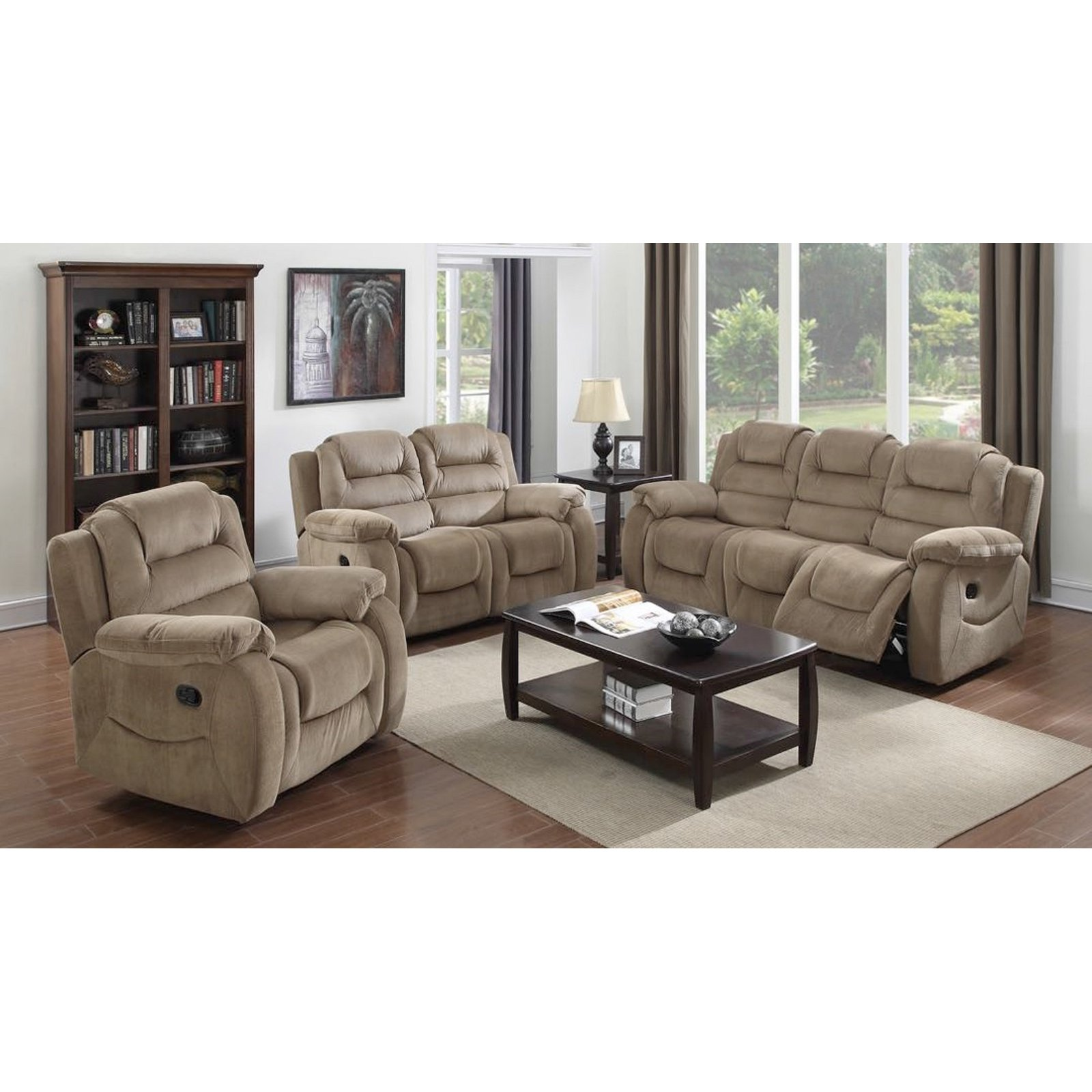 Sunset Trading Aspen 3-Piece Sofa Set