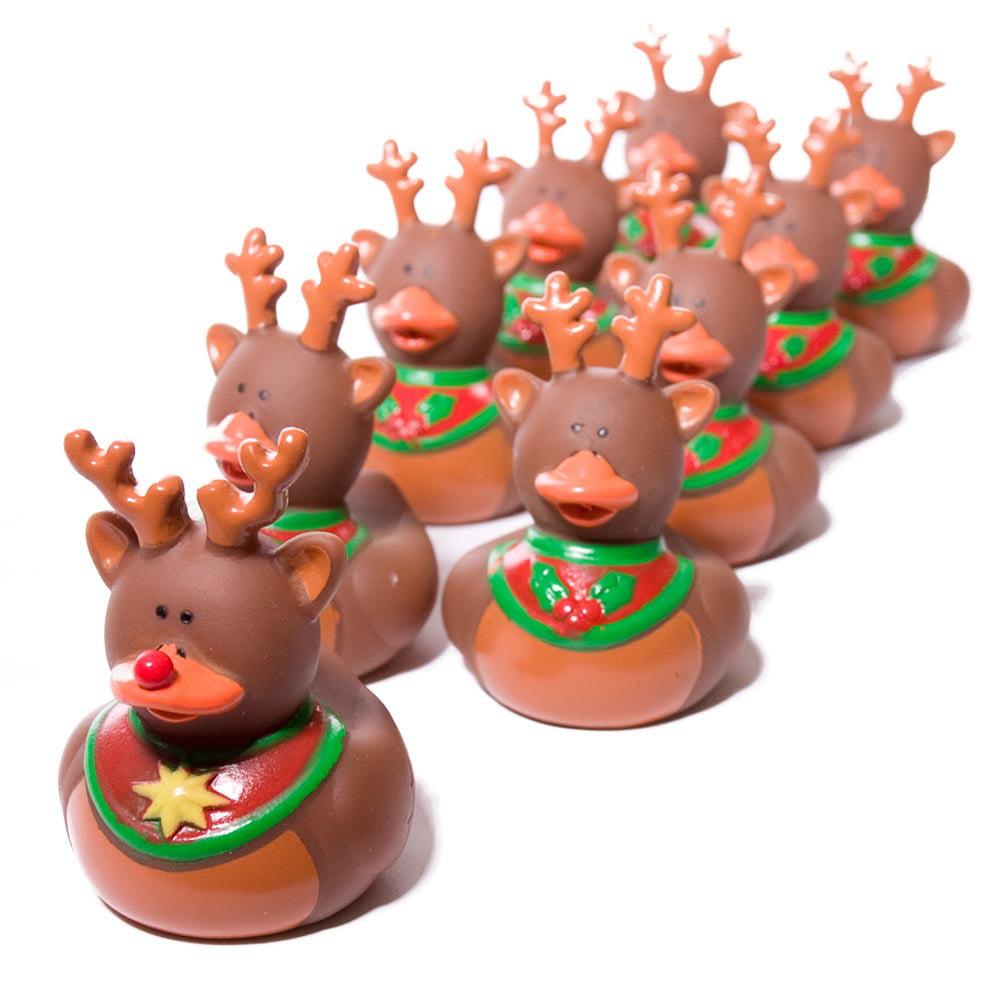 Reindeer Rubber Duckie
