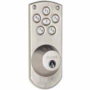Kwikset Satin Nickel Finish Powerbolt Keyless Home Access System