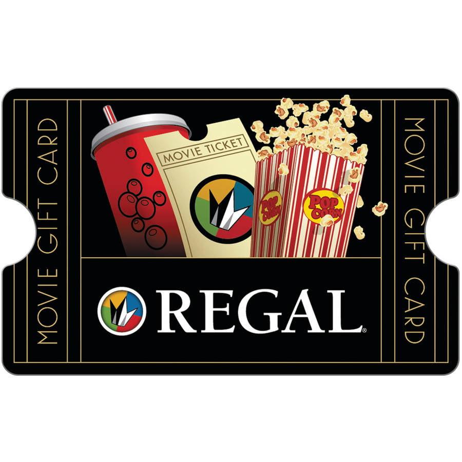Regal Cinemas $25 Gift Card - Walmart.com