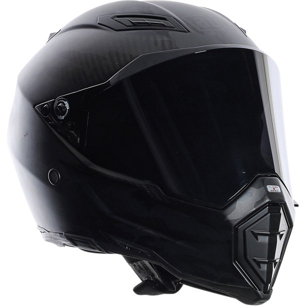 AGV AX8 Helmet - Naked Carbon Black Forest | Motorcycle
