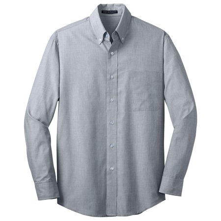 Port Authority Men's Big And Tall Poplin Shirt