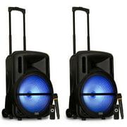 "Best Acoustic Audio Powered Pa Speakers - Acoustic Audio PRTY152 Battery Powered 15"" Bluetooth Speakers Review"