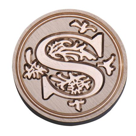 - Initial Vintage Wax Badge Seal Stamp Wax Alphabet Letters Kit Wedding
