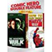 Comic Hero Double Feature (Incredible Hulk Returns How to Draw Comics the Marvel Way) by