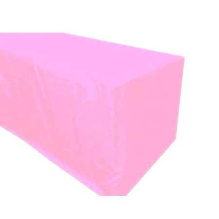 5' ft. Fitted Polyester Table Cover Wedding Banquet Event Tablecloth 21 COLORS