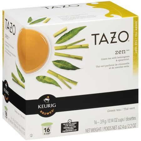 Tazo K-Cup Zen Tea, 16ct