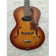 Godin 5th Avenue Kingpin Archtop Hollow Body Electric Guitar (Cognac Burst)