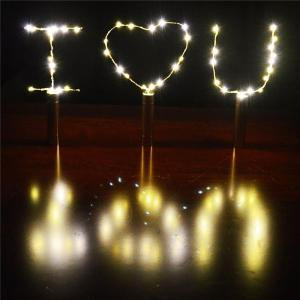 Wine Bottle Cork String light,15-LEDs 1M AA Battery Power Warm White Cork Starry Lights for Bottle DIY, Table Decorations - Wine Bottle Table Numbers