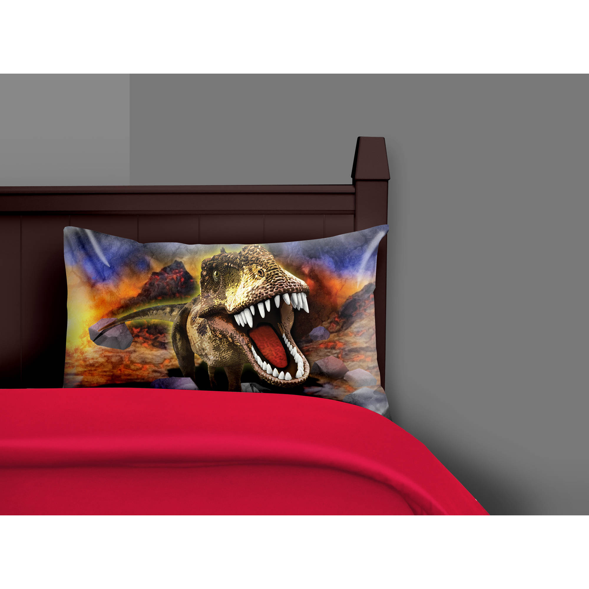 Your Zone Dino Photo Pillow