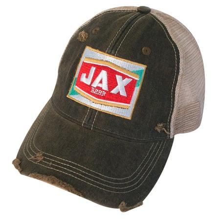 jax beer vintage mesh hat