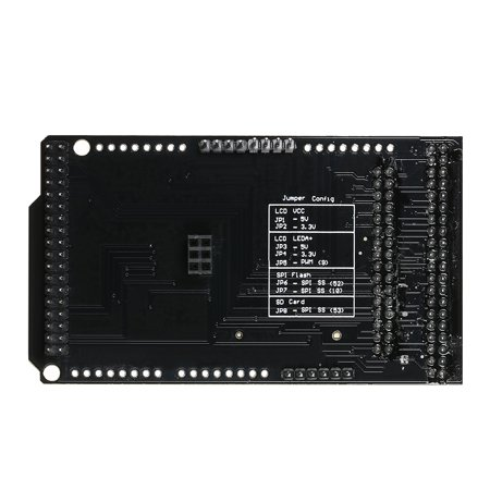 CTE TFT LCD / SD Card Shield Expansion Board for Arduino DUE Module Support 32Pin 40Pin Version LCD - image 5 of 7