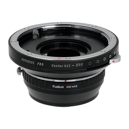 Fotodiox Lens Mount Adapter   Contax 645  C645  Mount Lenses To Micro Four Thirds  Mft  M4 3  Mount Mirrorless Camera Body  With Built In Aperture Iris