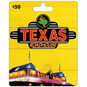 Texas Road House $50 Gift Card
