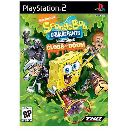 Spongebob Squarepants: Nicktoons Globs of Doom (PS2)